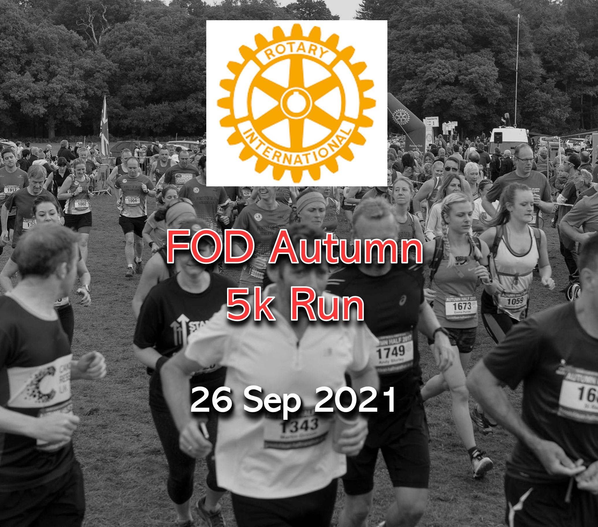 FOD Autumn 5k Run